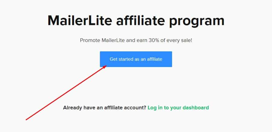 mailerlite affiliate program review