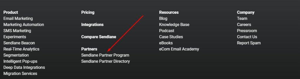 sendlane affiliate program review