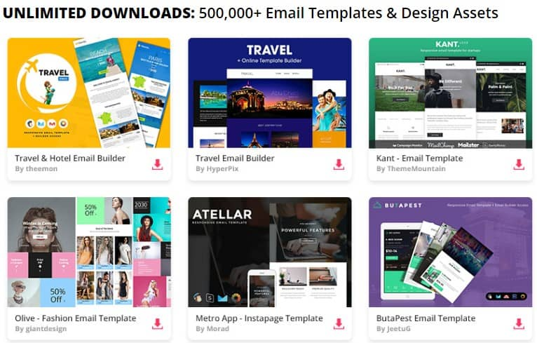 what is the best email marketing template